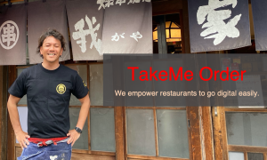 TakeMe Order is Shopify for Restaurant that Empowers Japan's Restaurants to Go Digital Easily