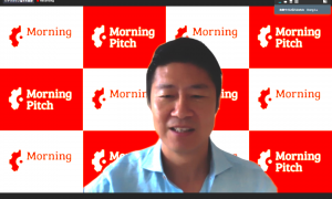 トーマツ ベンチャーサポート株式会社、野村證券株式会社が共催する 「モーニングピッチ」に弊社の代表 Dong Luが登壇致しました
